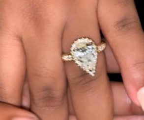 Chioma's Engagement Ring