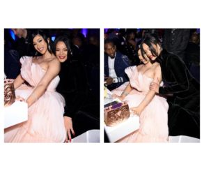 Cardi B Outbids Herself Diamond Ball Auction