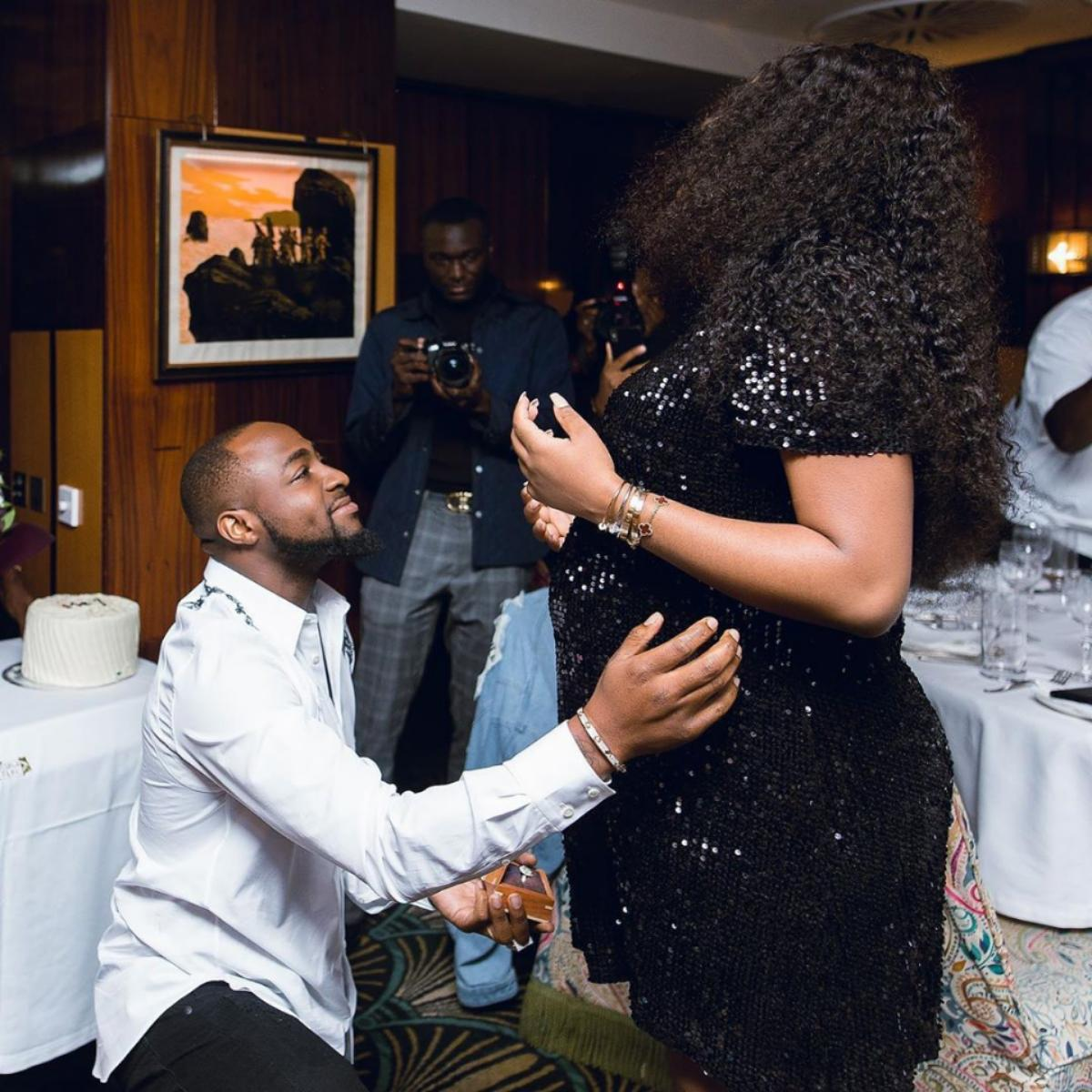 Davido Thanks Chioma For Being Pregnant For Him