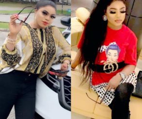 Nigerian Youths Protest Against Bobrisky's Influence
