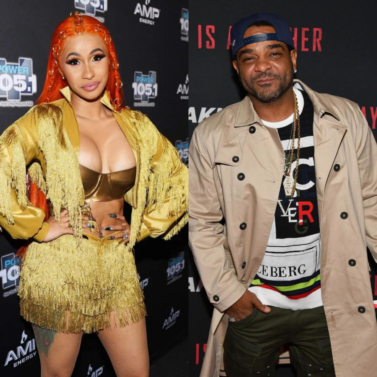 Tekashi 6ix9ine Claims Cardi B And Jim Jones Bloods Gang Members