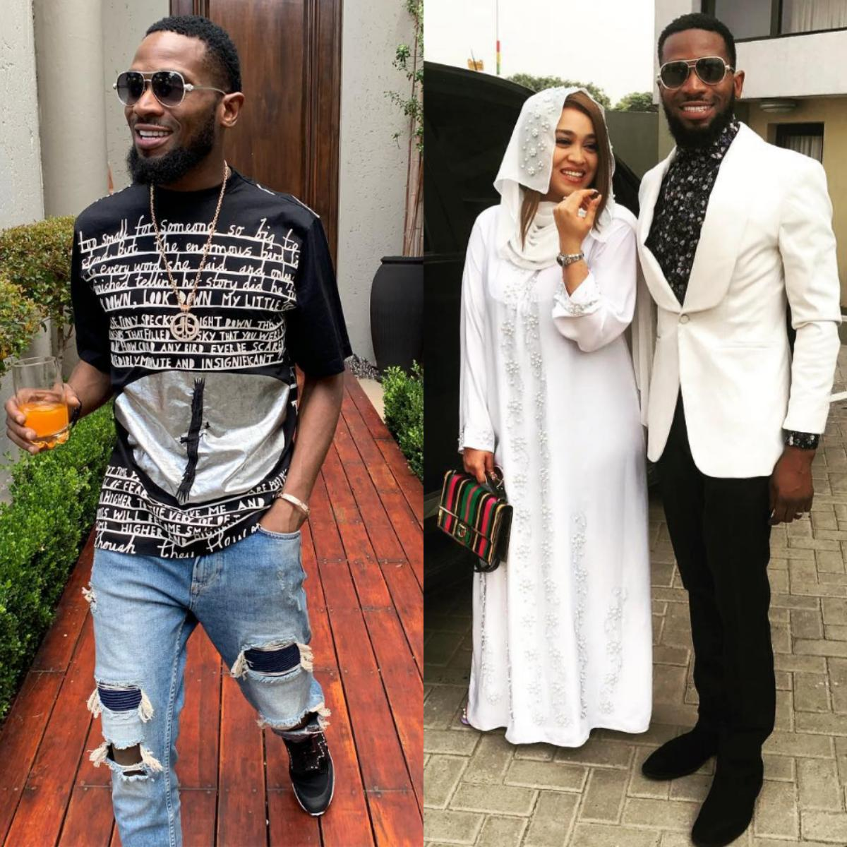 D'Banj Wife Welcome Baby Boy