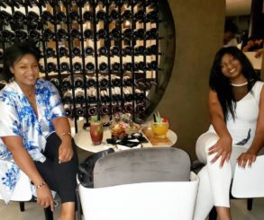 Omotola And Daughter Princess Hang Out