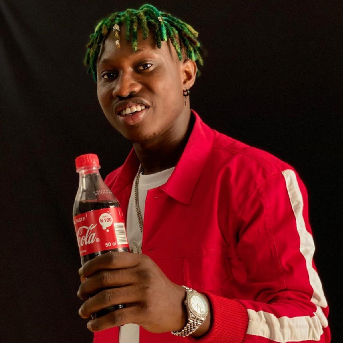 Zlatan Ibile Coca-Cola Brand Ambassador