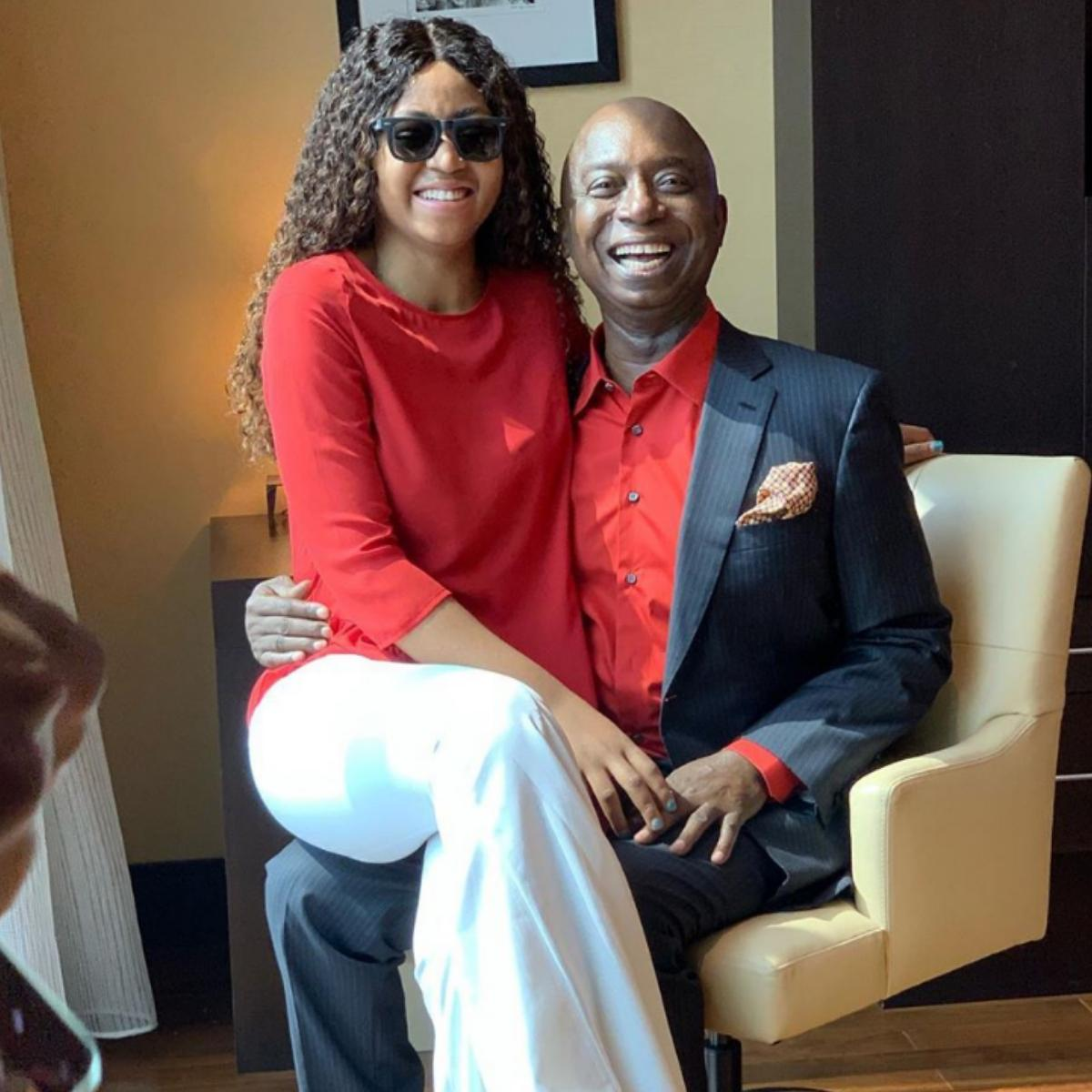 Regina Daniels Husband Celebrates A Goal