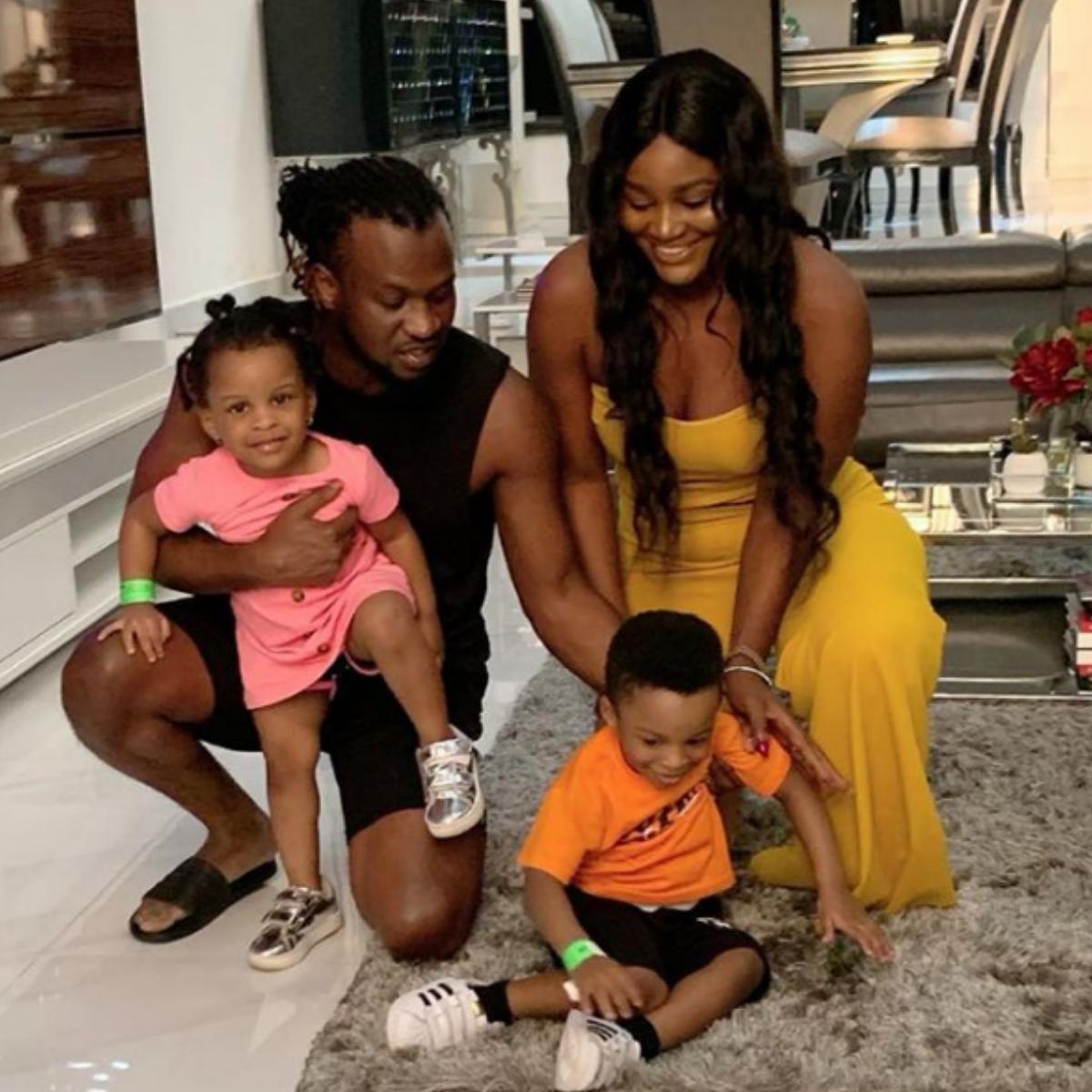 Chizzy Alichi Visits Paul Okoye At Home