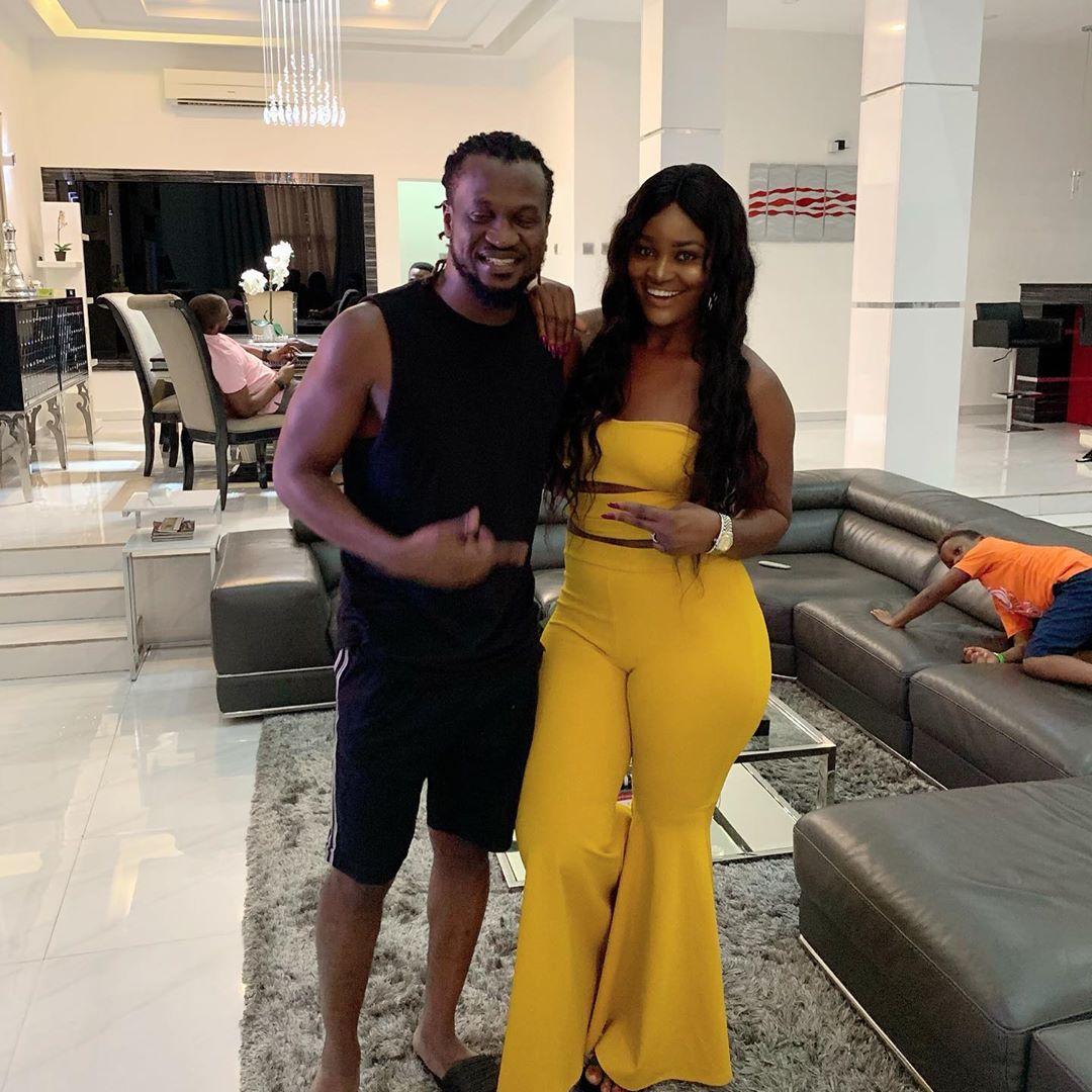 Chizzy Alichi Visits Paul Okoye At Home (4)