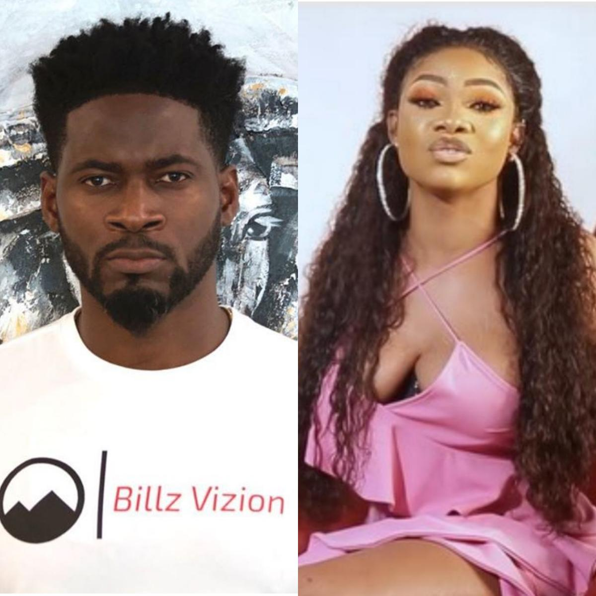Teebillz Calls Tacha His New Adopted Daughter