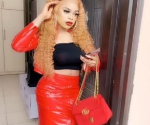 Bobrisky Woke Up With Menstrual Pain