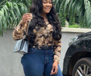 Rachael Okonkwo Ankara Outfit