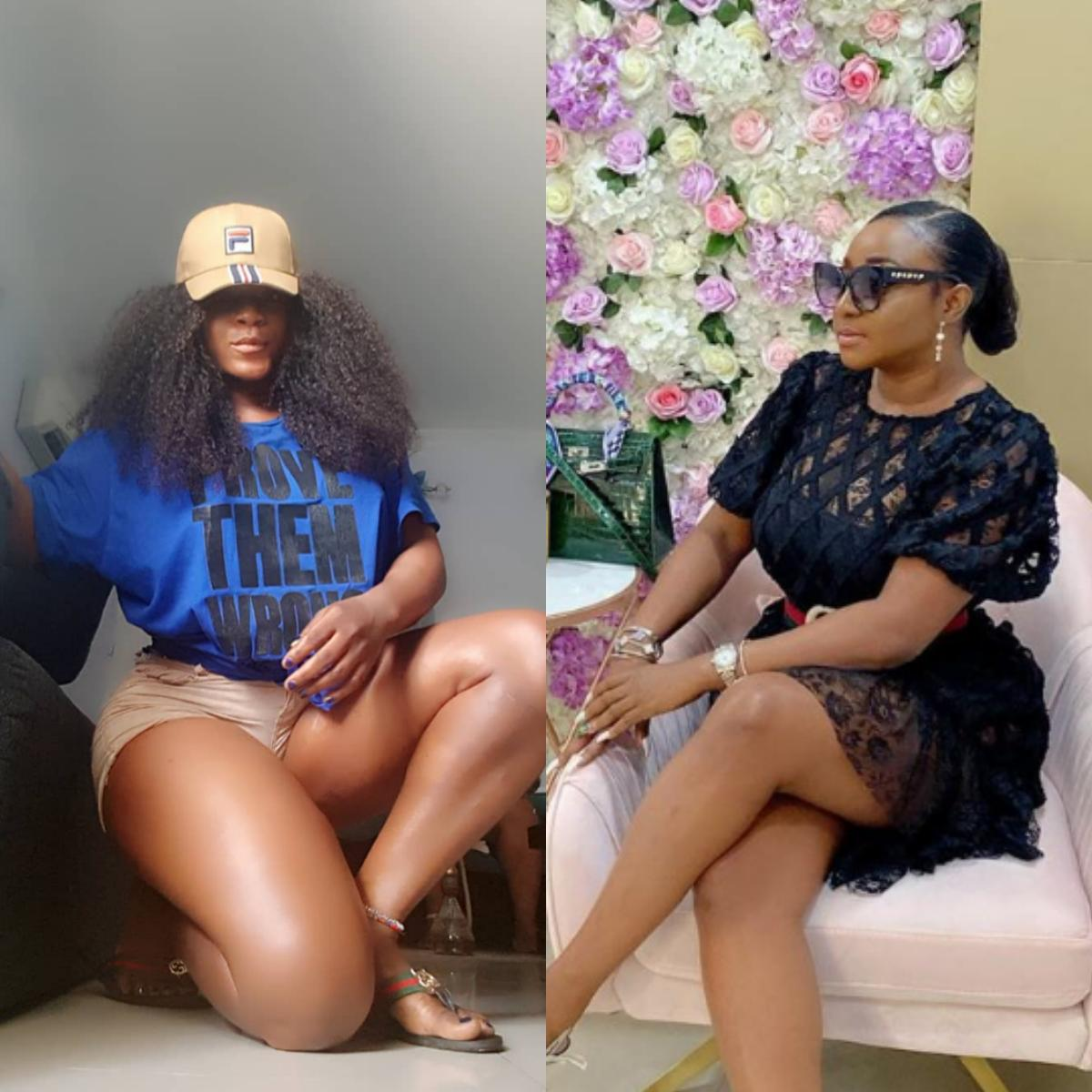 Destiny Etiko And Ini Edo Stun In Ripped