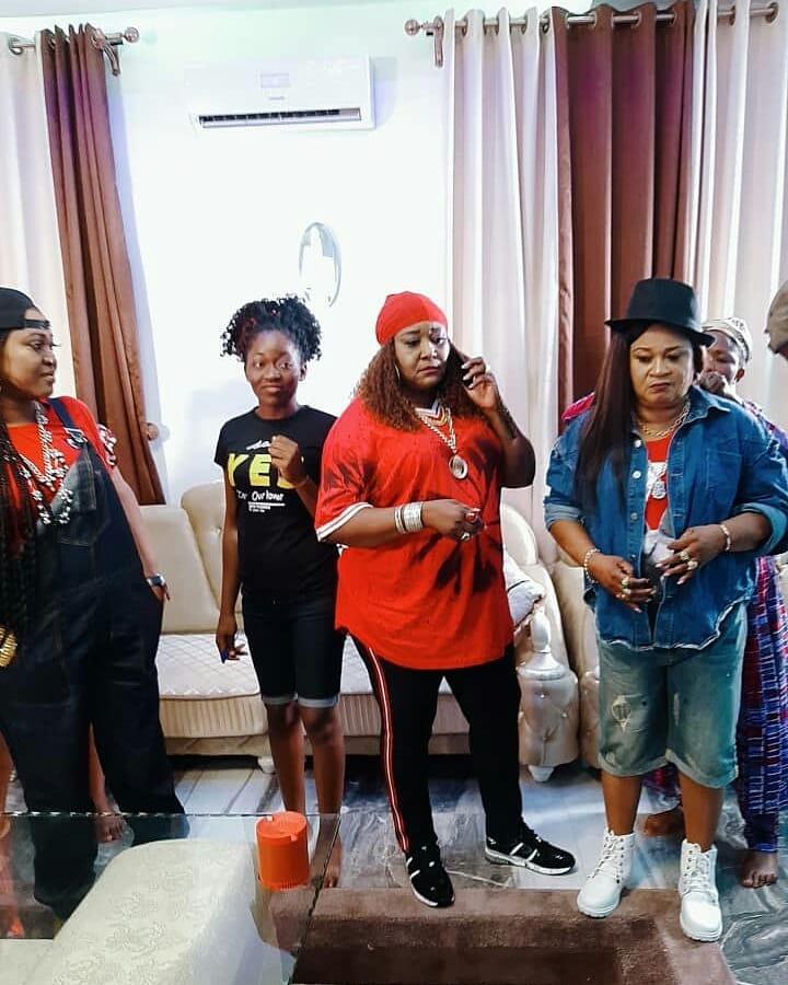 Ebele Okaro And Rachael Oniga Show Off Their Swag (5)