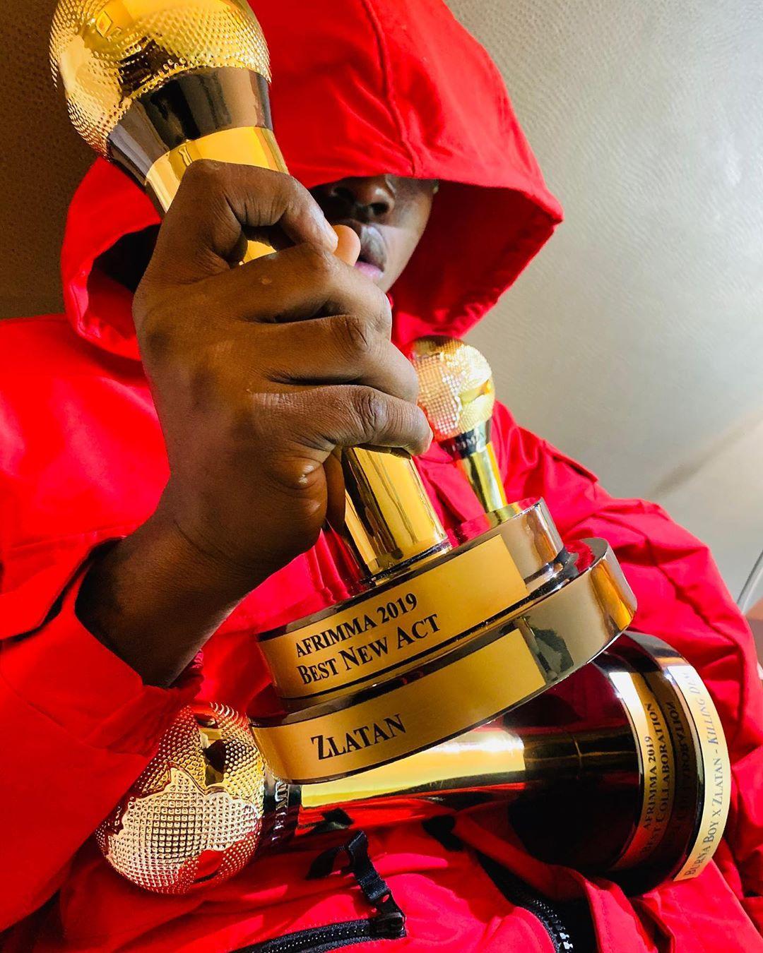 Zlatan Ibile 3 Awards Afrimma 2019 (2)