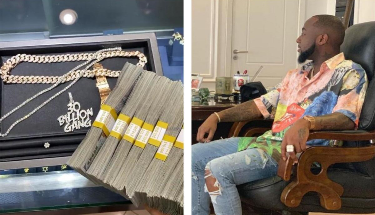 Davido Spends $100K Cash At Ice Box Buying Diamond Rings And Chains (2)