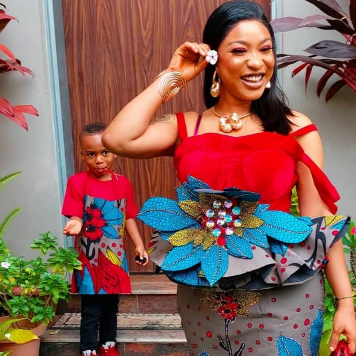 Tonto Dikeh Offers Parenting Tip