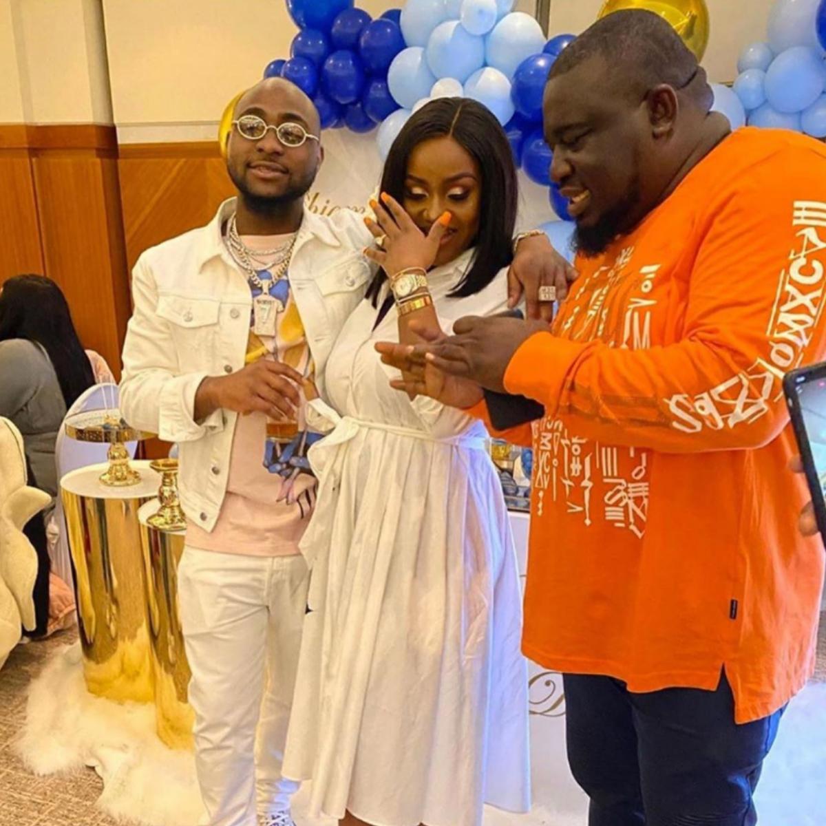 Davido's Son Ifeanyi Adeleke Naming Ceremony
