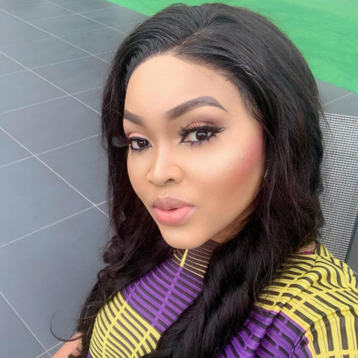 Mercy Aigbe Orobo Stature