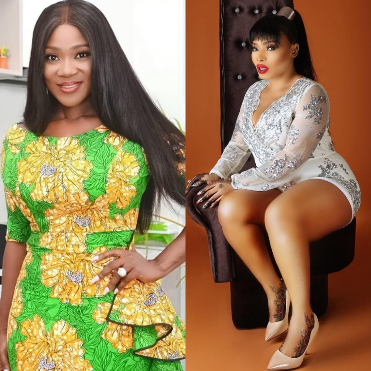 Mercy Johnson Compliments Halima Abubakar On Her Hotness