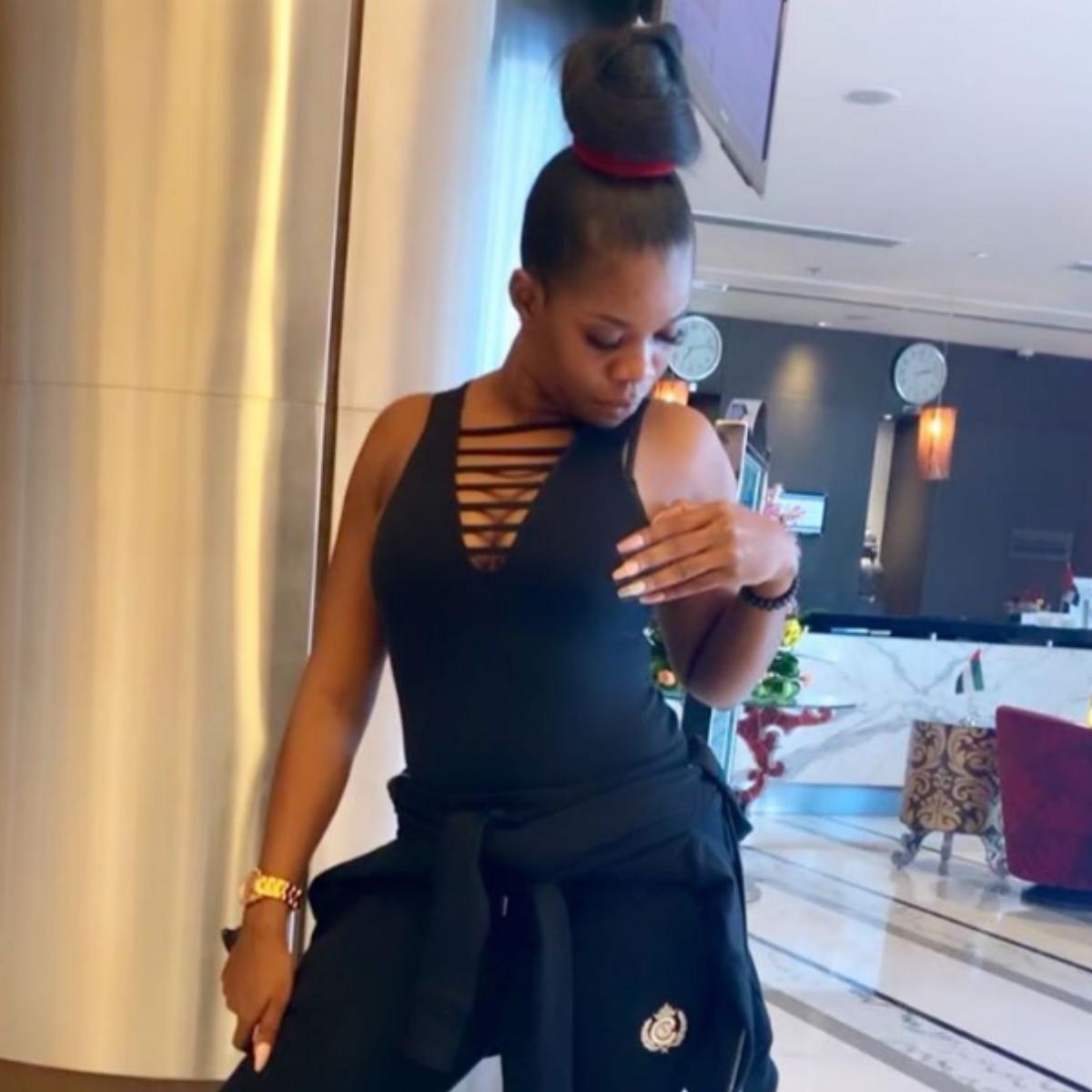 Yummy Mummy Shola Ogudu Dubai Look