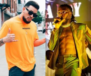 South African Rapper AKA Feud With Burna Boy