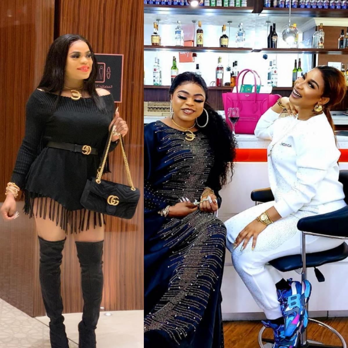 Video Proof That Tonto Dikeh Was Not Deported From Dubai