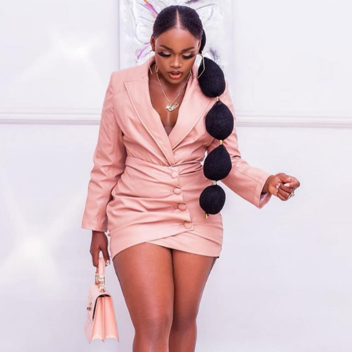 Cee-C Replies Trolls Using Bitter Leaf And Jaundice To Mock Them