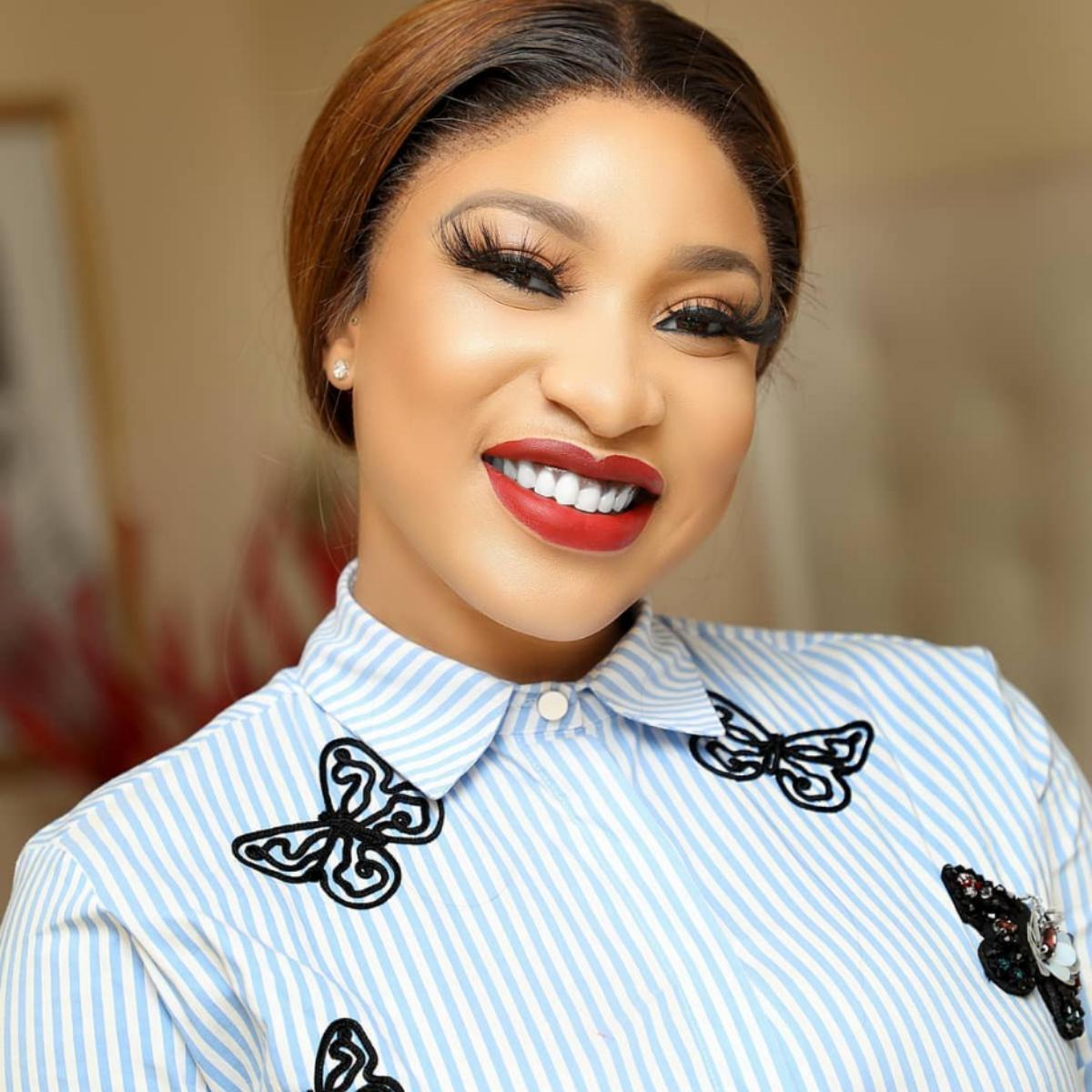 Tonto Dikeh Opens New Instagram Page