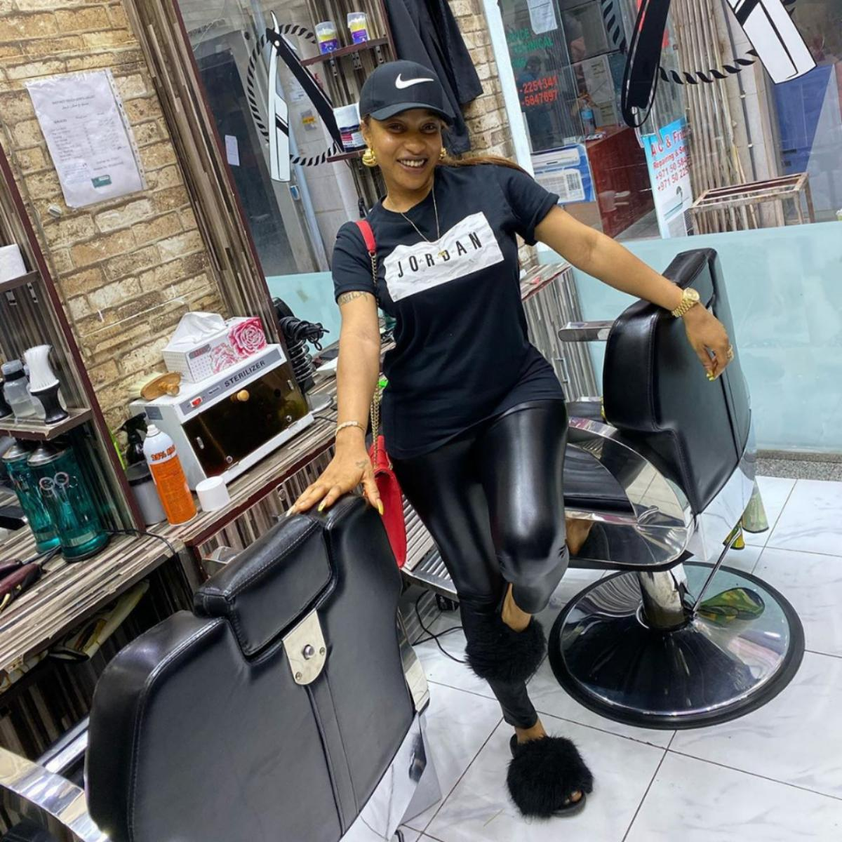 Tonto Dikeh Declares Herself A Man