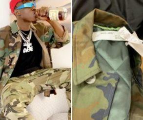 Zlatan Ibile $1,8K Camouflage Jacket