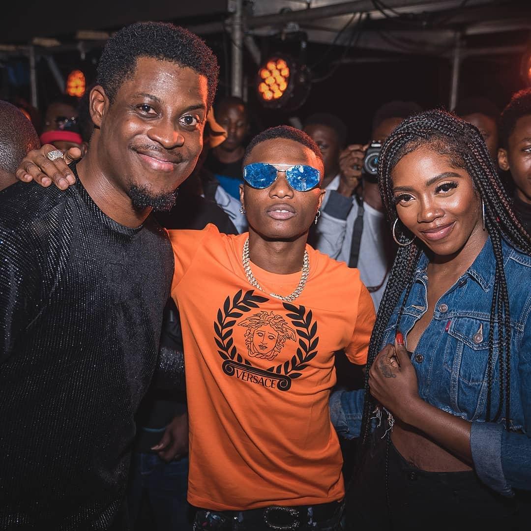 Seyi Awolowo Poses With Wizkid And Tiwa Savage (2)