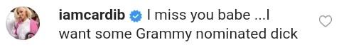 Cardi B Reaction After Offset Grammy Nomination (2)