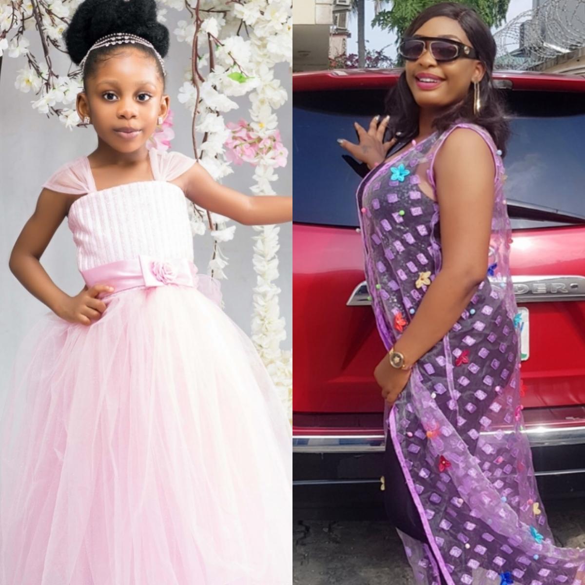Nuella Njubigbo Celebrates Daughter Tess Tchidi Chikere On 5th Birthday