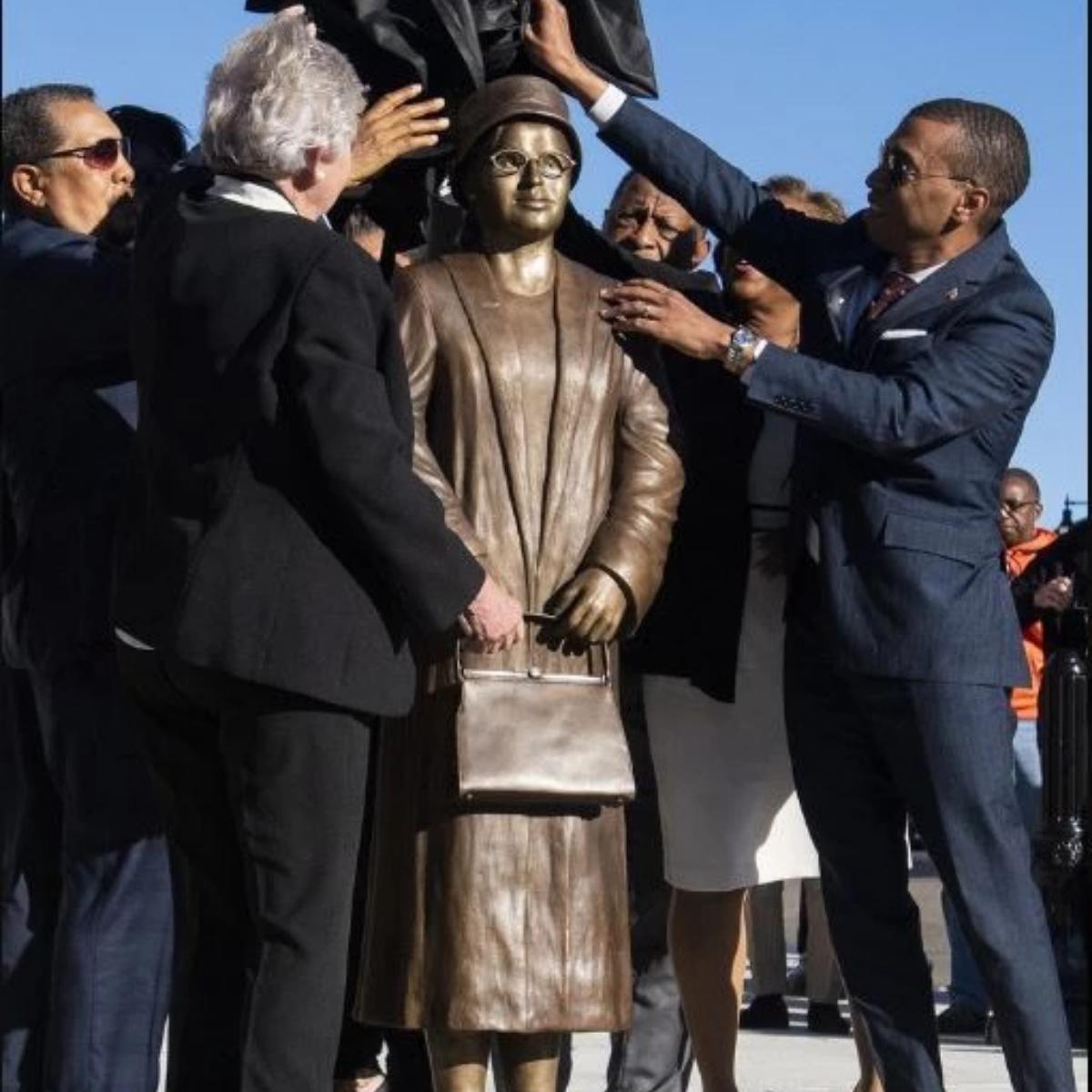 Rosa Parks Statue Montgomery Alabama