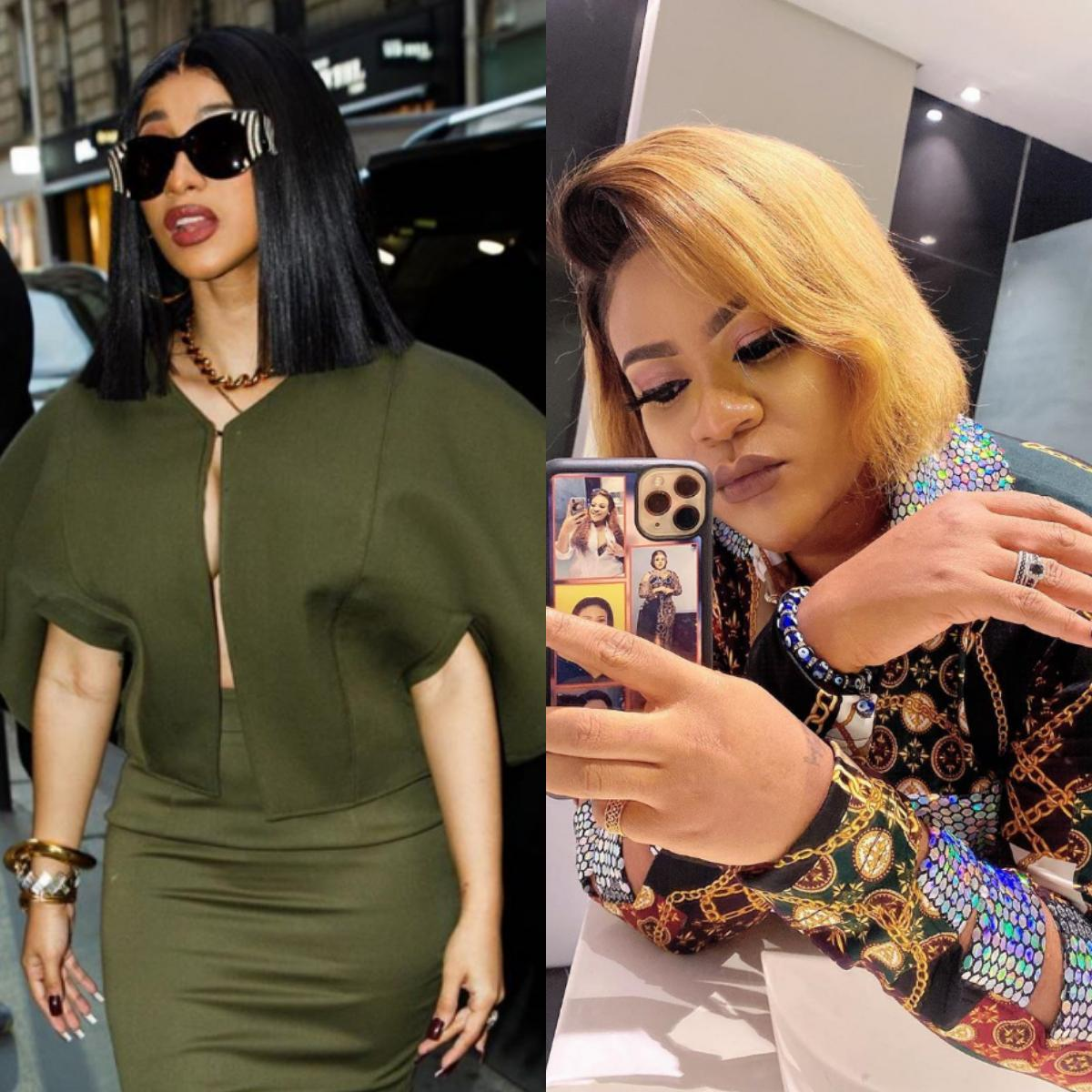 Nkechi Blessing Sunday Str*p Club United States Cardi B