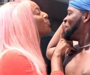 Broda Shaggi Kisses DJ Cuppy