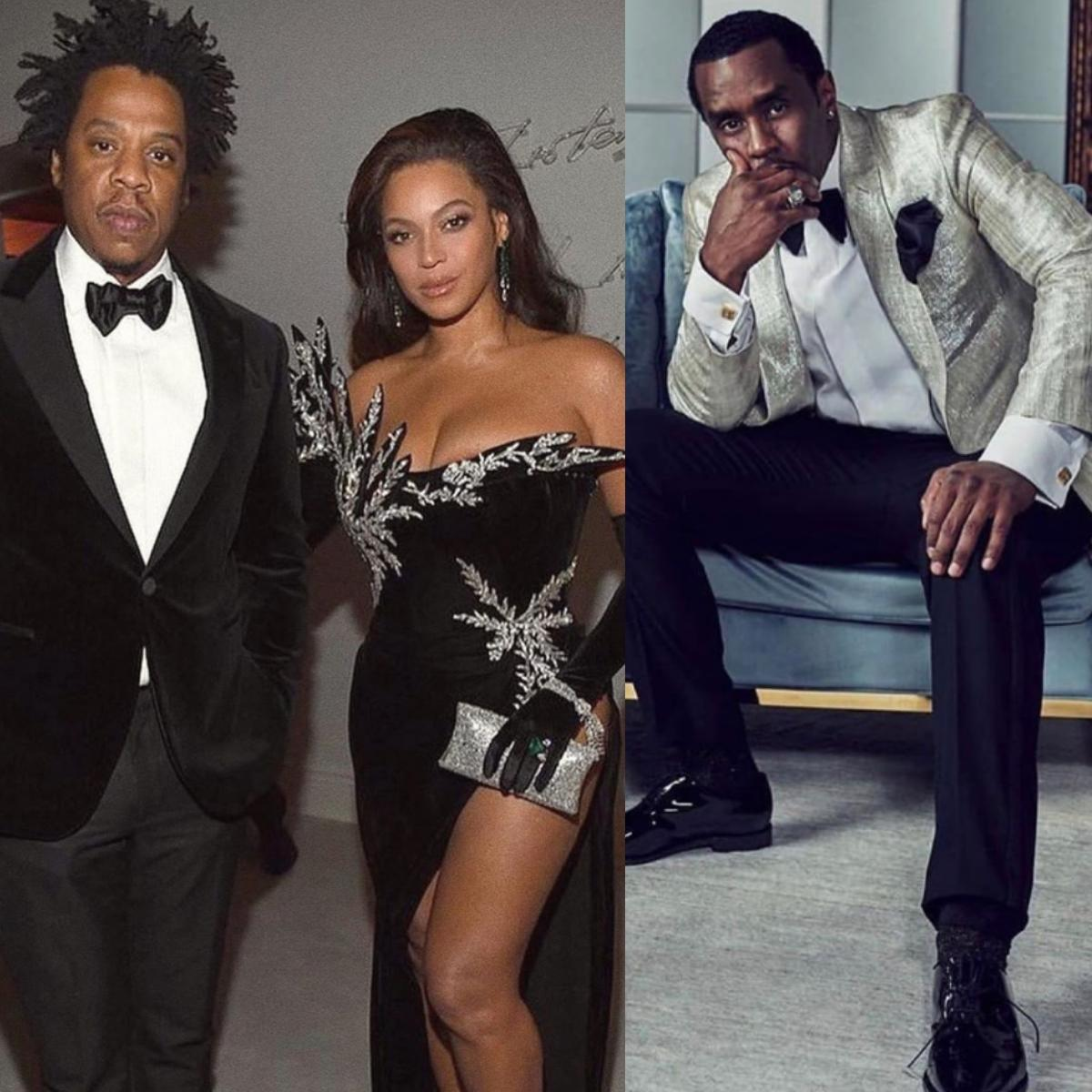 Jay-Z Snatches Man's Phone At Diddy's 50th Birthday Bash