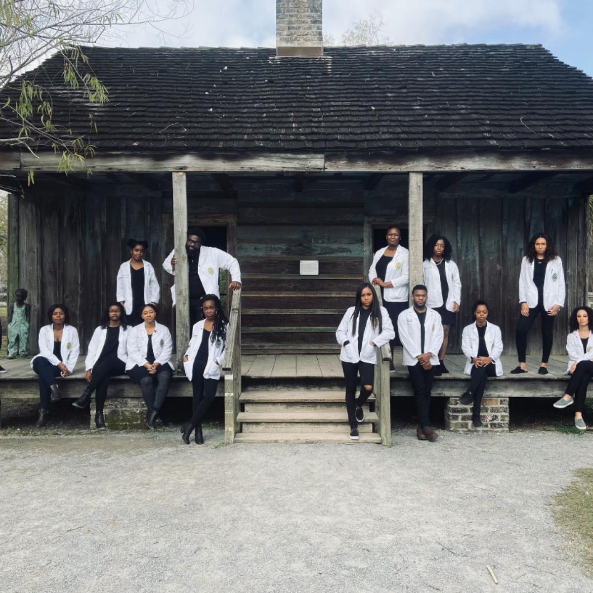 Black Medical Students Honor Ancestors Louisiana Slave House