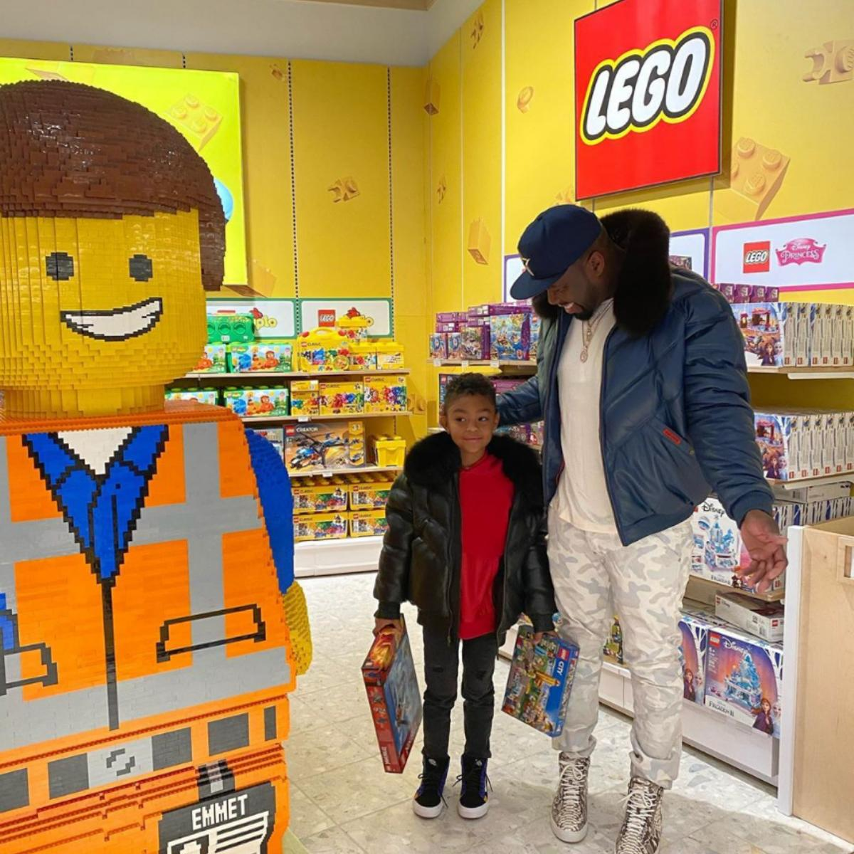 50 Cent Rents Toys 'R' Us For Son Sire