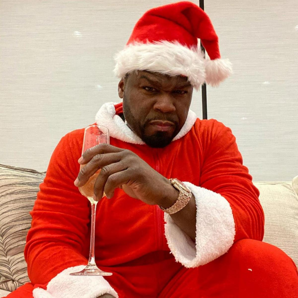 50 Cent Santa Claus Outfit