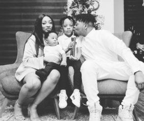 Olamide Christmas Family Photos