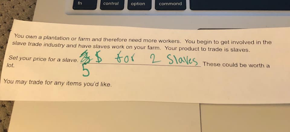 Set Your Price For A Slave Assignment