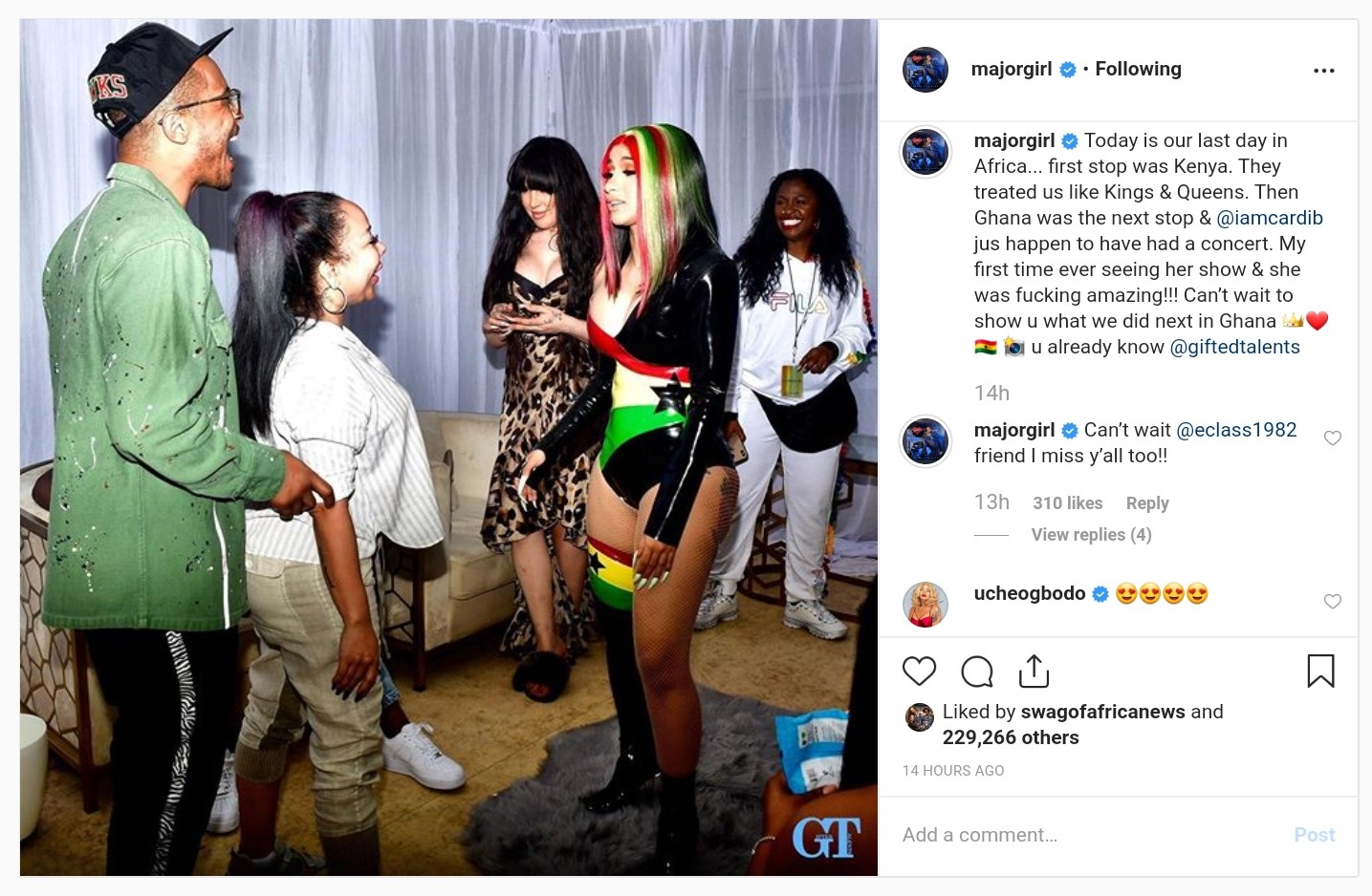 Photo Of T.I. And Tiny With Cardi B In Ghana (3)