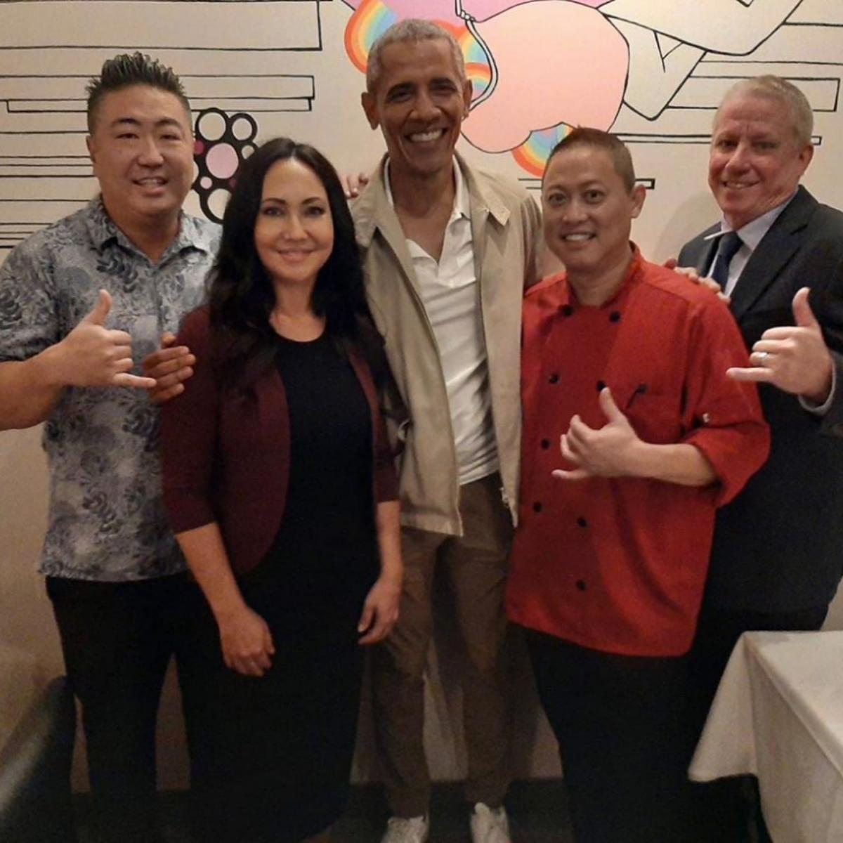 Barack Obama Ya-Ya's Chophouse and Seafood Restaurant