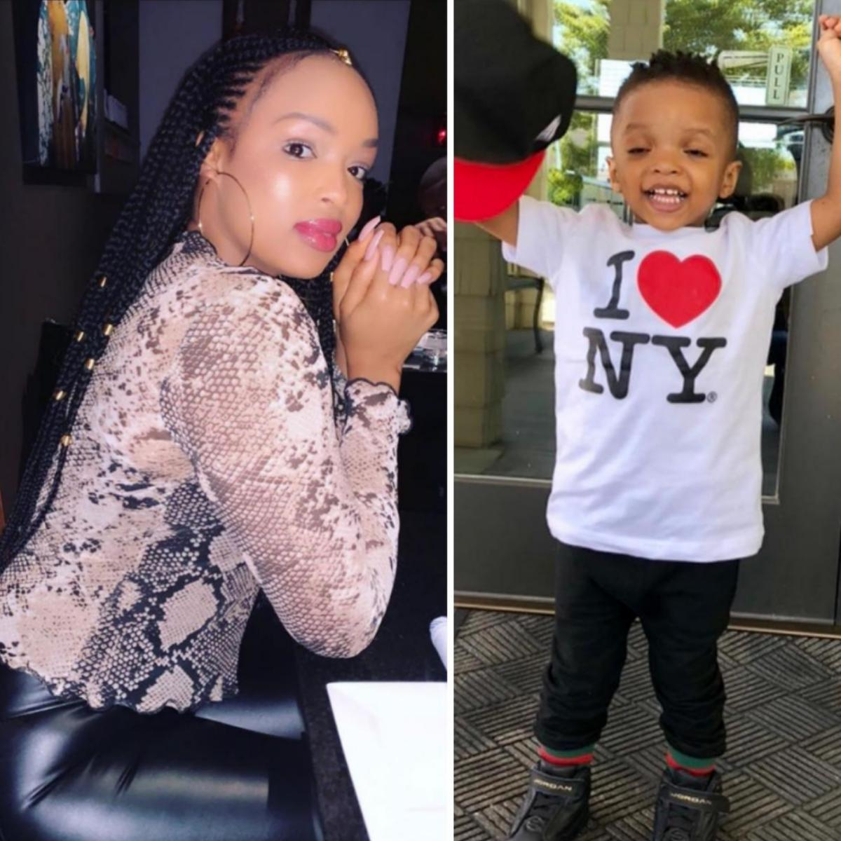 Binta Diamond Diallo Celebrates Son Ayodeji Balogun 4th Birthday