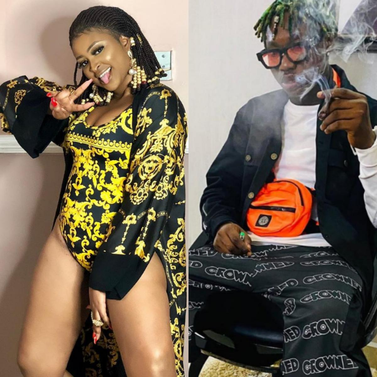Zlatan Ibile Girl With Big Yansh From Club Quilox