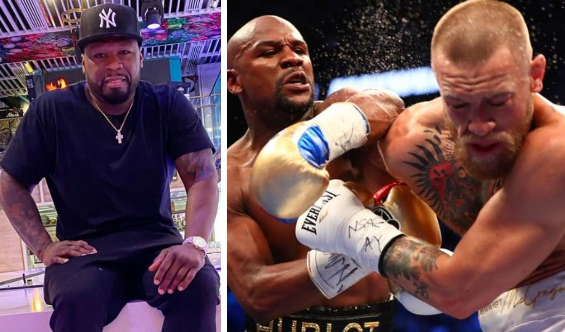 50 Cent Responsible For Conor McGregor Fighting Floyd Mayweather