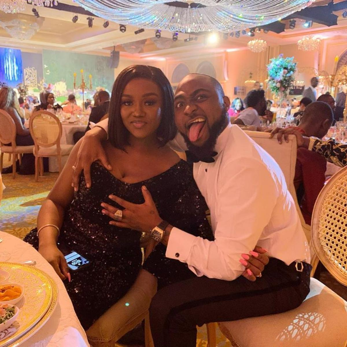 Davido Gifts Chioma Patek Philippe Watch Valentine's Day