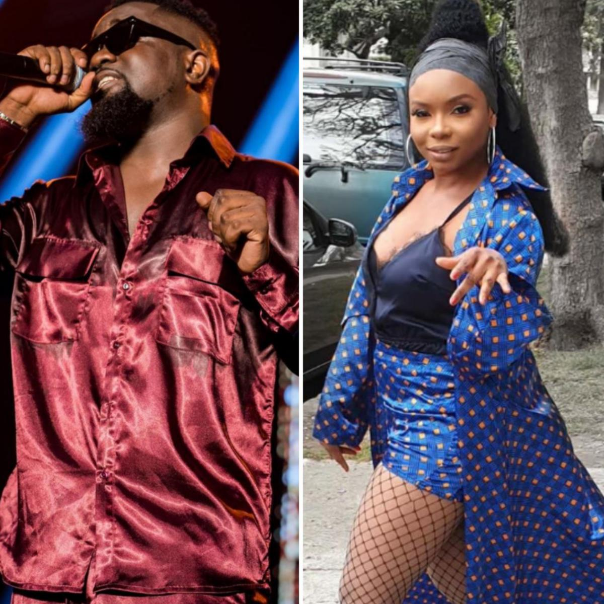 Sarkodie Apologizes To Yemi Alade