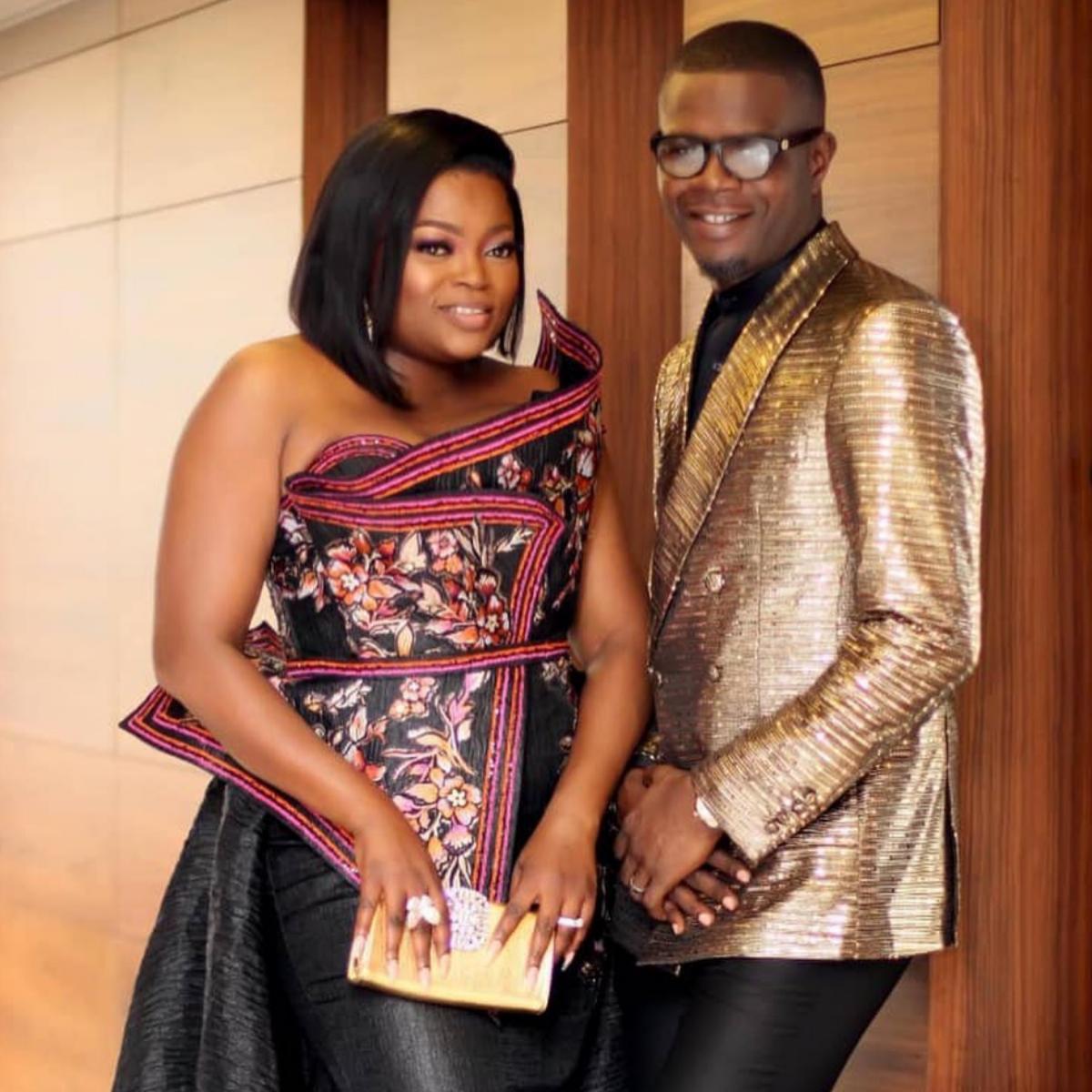Funke Akindele Wishes Husband Happy Birthday