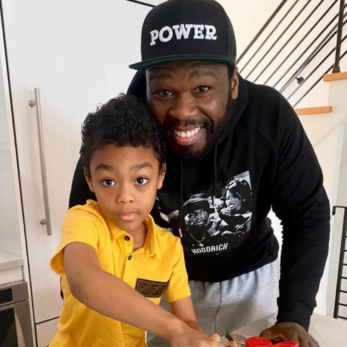 50 Cent Son Tells Him Practice After Watching For Life